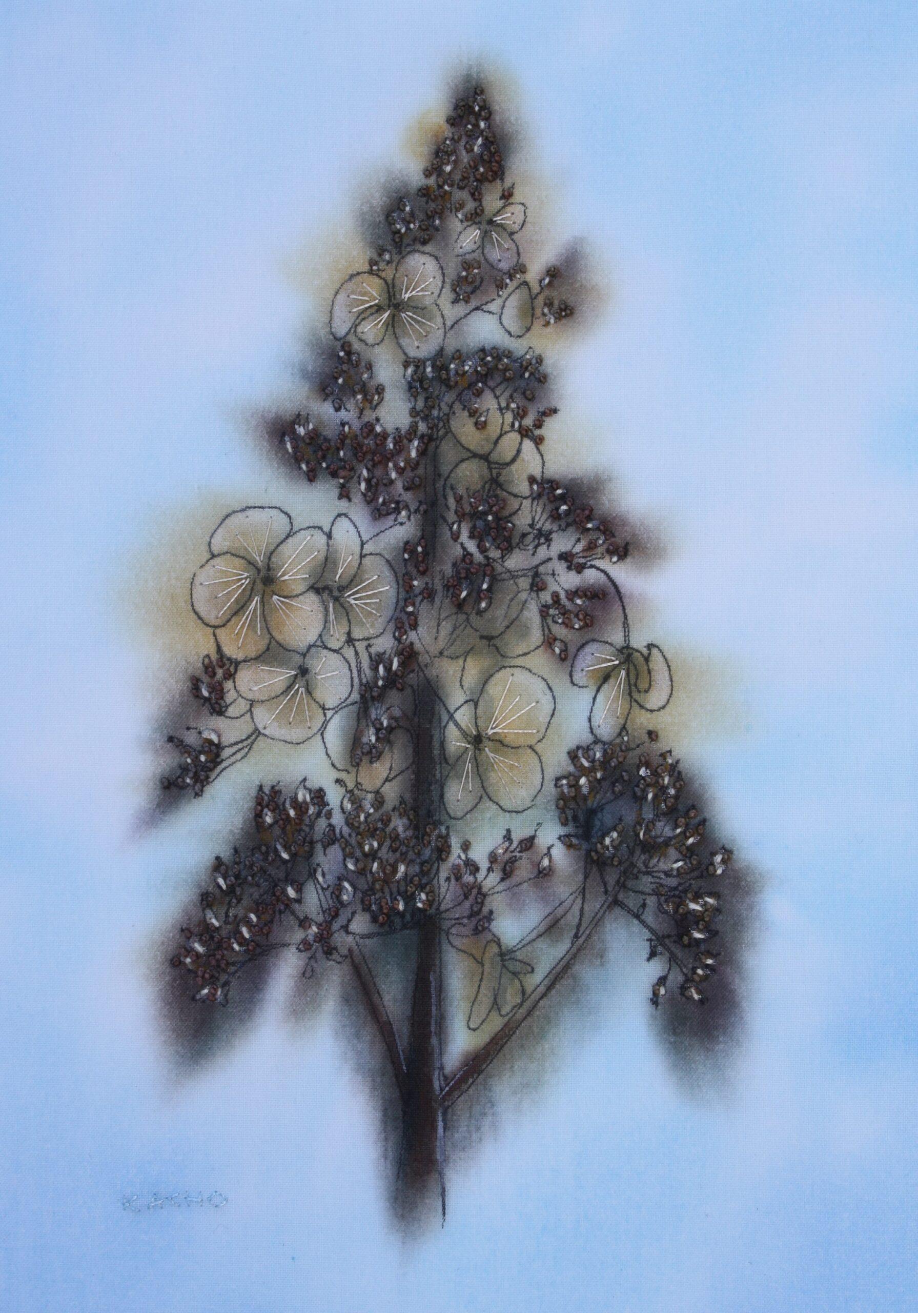 winter hydrangea spire